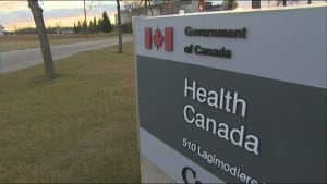 Health Canada sign