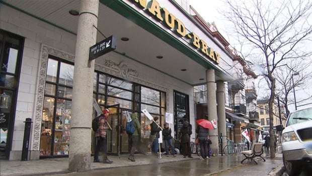 """The Renaud-Bray management says it is difficult to raise wages because of """"economically unfavourable"""" conditions for bookstores."""