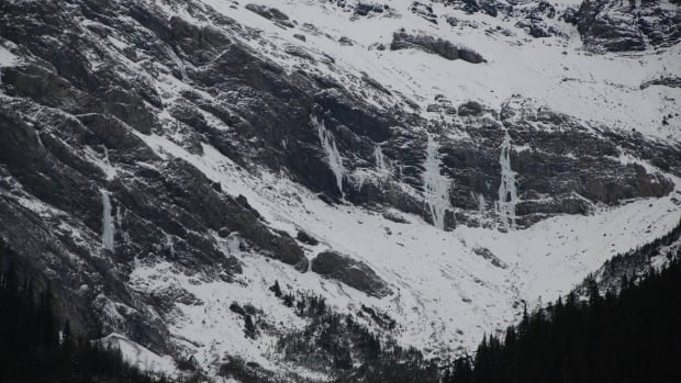The avalanche hit ice climbers in the Ranger Creek area Saturday morning.