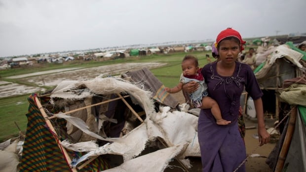 The UN says more than 100,000 Rohingya refugees are living in camps near the state capital Sittwe in Burma's northwestern Rakhine State, because their villages have been destroyed in the country's ongoing conflict between between Buddhists and Muslims.