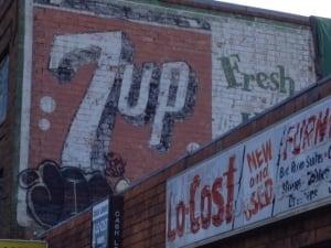 Saskatoon 20th Street 7-Up Ad