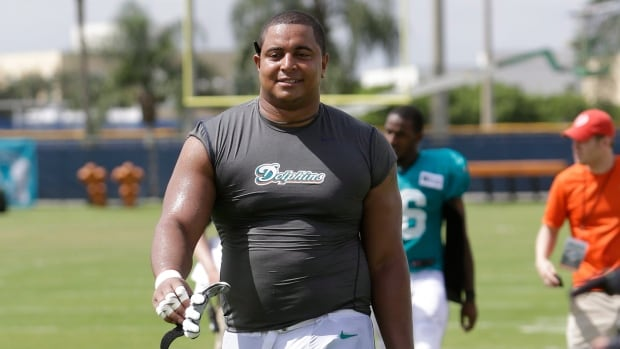 Miami Dolphins tackle Jonathan Martin is alleging player misconduct.