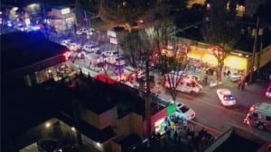 Vancouver car crash