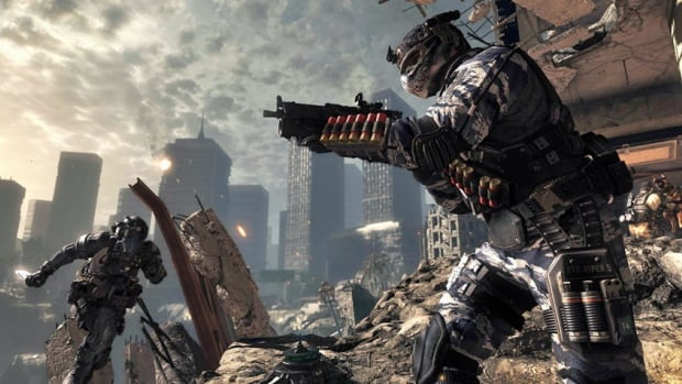 Whether it's epic scenes of skyscrapers or aircraft blowing up, or enemy bullets zinging by, players of Call of Duty: Ghosts get to experience everything first-hand because they are literally in the virtual shoes of the game's main character.