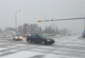 Regina traffic snarled