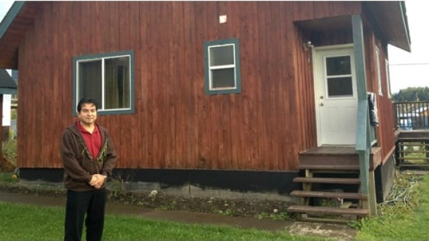 Nisga'a government's economic development officer Bert Mercer is set to become a property owner of his land. He's one of the first to take advantage of the new law.