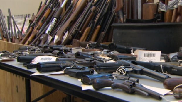 Ottawa police say more than 1,000 guns and rifles have been turned over in exchange for digital cameras in this year's Pistols for Pixels program.