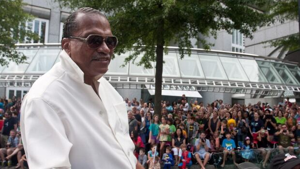 "Actor Billy Dee Williams, famous for his role as Lando Calrissian in the ""Star Wars"" movie series, rides in a parade during the annual Dragon Con sci-fi and fantasy convention Atlanta in August."