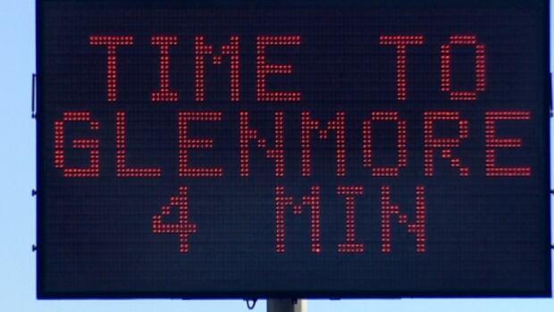 Crowchild, Deerfoot, Glenmore signs