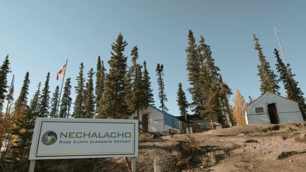 The Nechalacho rare earth project at Thor Lake, 100 kilometres east of Yellowknife.