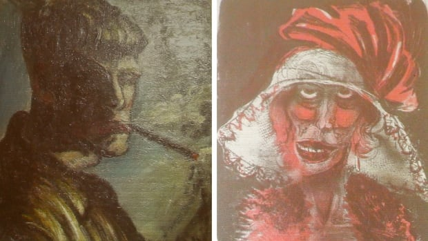 A combination of two formerly unknown paintings by German artist Otto Dix are  shown in German courtroom. Cornelius Gurlitt, a reclusive German collector whose long-secret hoard of well over 1,000 artworks triggered an international uproar over the fate of art looted by the Nazis, has died at 81.