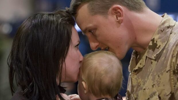 The frequent overseas deployments that are part of a career in the military take a toll on the spouses and children of military personnel in a variety of ways, a report from Canada's military ombudsman found.