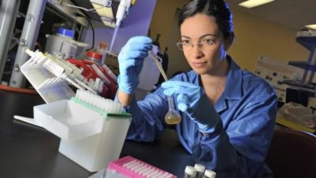 Nina Quadros of the Virginia Tech Center for Sustainable Nanotechnology is part of a team of scientists that are matching scientific studies to consumer products in a newly updated database of consumer products containing nanoparticles.