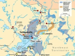 Thor Lake map