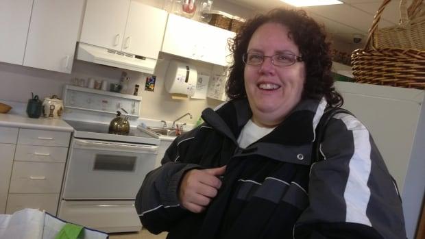 Nina Parkarri, 42, has been visiting food banks in Thunder Bay since July.
