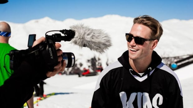 Freestyle skier Matt Margetts turned to social media to fund his way to Sochii, when he discovered that existing government support would not be enough
