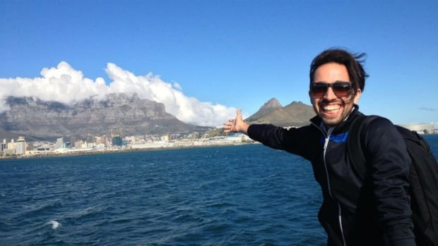 Marc Caporiccio takes a ferry to Robben Island during his one-month study abroad in South Africa. Caporiccio said that, as an openly gay man, safety was one of his top concerns before departing on the trip.