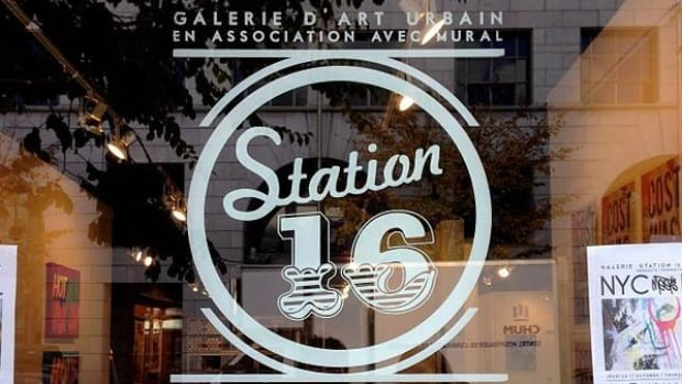 Station16 gallery owner Carlo de Luca is asking the public to help them track down stolen artwork.
