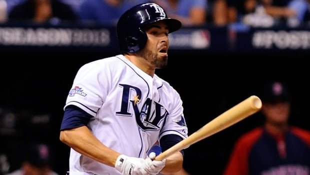 After being acquired in an August trade from Washington, outfielder David DeJesus started 26 games for the Rays, helping Tampa Bay earn its fourth playoff berth in six seasons.