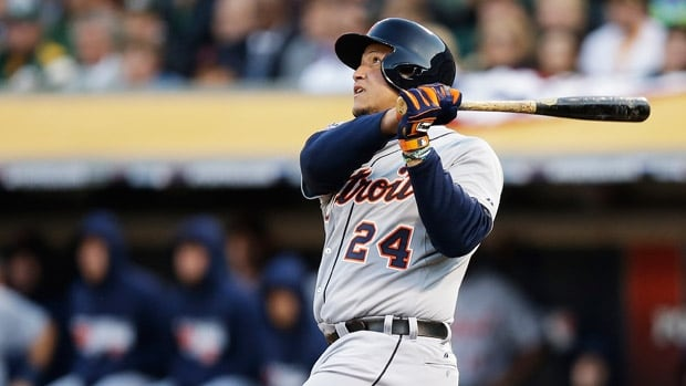 Miguel Cabrera of the Detroit Tigers was selected for the fifth time to win the award.
