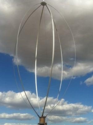 Glen Lux wind turbine.