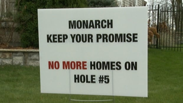 Residents say they plan to fight Monarch's proposed development.