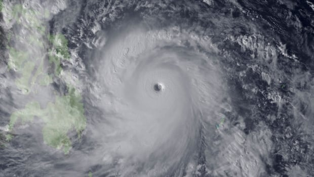 Super Typhoon Haiyan is seen approaching the Philippines in this Japan Meteorological Agency image last November. Tropical cyclones in the Northern Hemisphere are migrating further north each decade, toward more populated areas.
