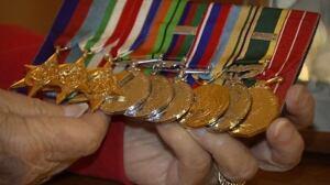 Madrien Ferris medals