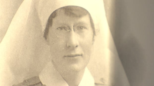 Clare Gass trained as a nurse at McGill University and served as a battlefield nurse during the First World War.