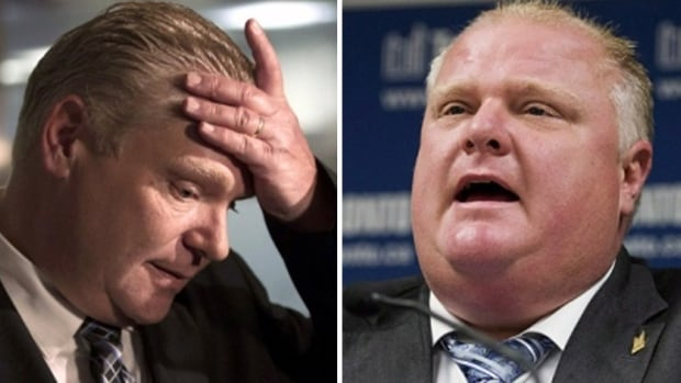Which Ford was at a Tim Hortons earlier this week? According to a Tim Hortons spokeswoman on Friday, it was Doug, left, and not Toronto Mayor Rob Ford who was at the fast-food eatery when the mayor was said to be in rehab.