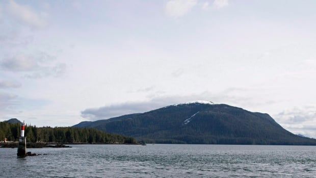 Lelu Island, near Prince Rupert, B.C. would be the site of a liquefied natural gas export facility by Petronas  BC, is seen March 8, 2013. Malaysian national oil company Petronas and Progress Energy Canada. Indian Oil Corp. has bought a 10 per cent stake.