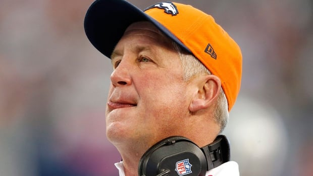 """Broncos head coach John Fox, who had heart surgery this week, says his recovery is progressing well - """"I'm feeling better and stronger each day"""" - and he'll continue meeting with his doctors."""