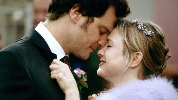 Colin Firth, as Mark Darcy, and Renée Zellweger, as Bridget Jones, seemed ready to live happily ever after at the end of the second Bridget Jones movie, Bridget Jones: The Edge of Reason.
