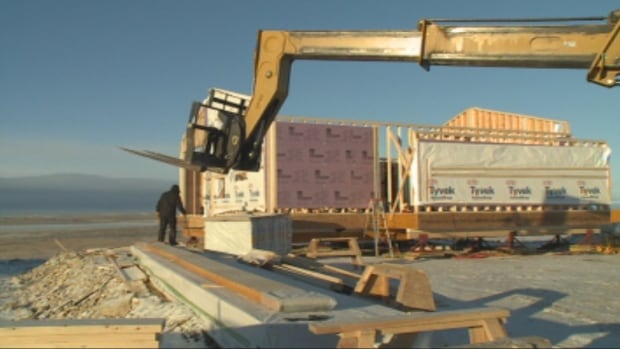 Cambridge Bay, Nunavut, is undergoing one of the biggest construction booms the hamlet has ever seen. Between now and 2017, more than $200 million will be spent on building in the community.
