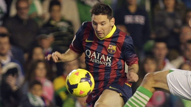 Barcelona's Lionel Messi is expected to miss the balance of the 2013 season after picking up his third leg injury of the season in Sunday's 4-1 win at Real Betis. The 26-year-old has been plagued by nagging muscle problems since the end of last season.