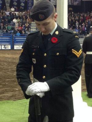 Remembrance Day in Regina