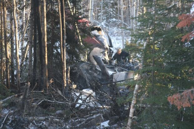 Red Lake crash TSB
