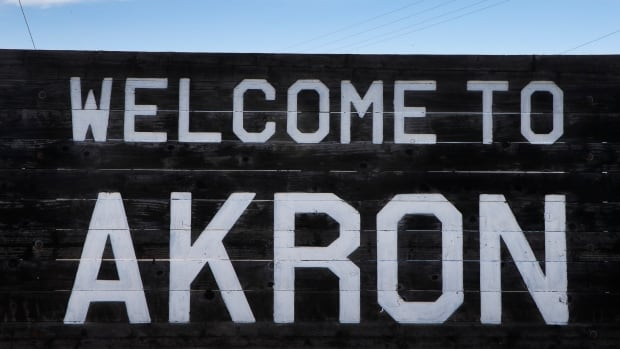A sign welcomes visitors to the rural town of Akron, the county seat of Washington County, Colo. Amajority in Washington and four other counties on Colorado's Eastern Plains voted yes on the creation of a 51st state, largely over residents' alienation from voters statewide on issues such as civil unions for gay couples, new renewable energy standards, and limits on ammunition magazines.