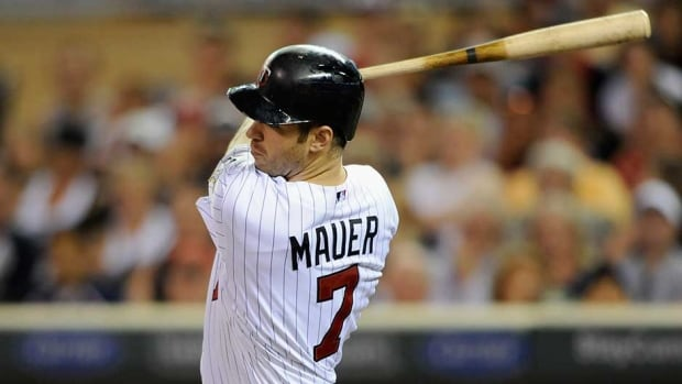 Minnesota Twins slugger Joe Mauer is signed through 2018 with $115 million remaining on his contract.
