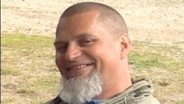 Police believe Valentine Degenhardt, from Salmon Arm, B.C., was murdered after he went missing last July in Barrhead, Alta. Three people from the community are facing charges in his disappearance.