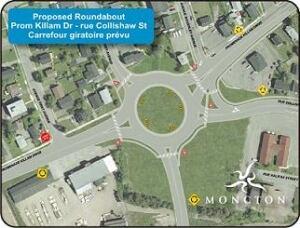 Killam Drive roundabout