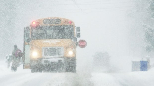 All schools in New Brunswick have lost at least four days to weather closures this school year.