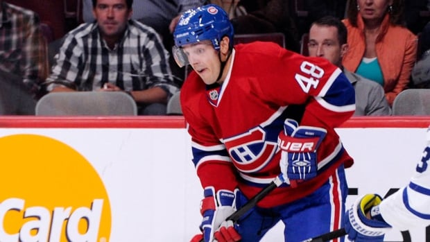 """Canadiens forward Daniel Briere, who suffered a concussion on Oct. 19, said he hasn't had any symptoms for some time and feels """"really close"""" to a return to game action."""