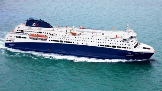 The Nova Star ferry will dock in Yarmouth Friday morning.