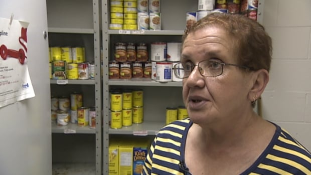 Helen Langille says clients rely on Manna for Health for fresh food.