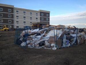 Hotel garbage