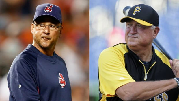 Both Terry Francona, left, and Clint Hurdle, right, had turnaround seasons with their small-budget teams.