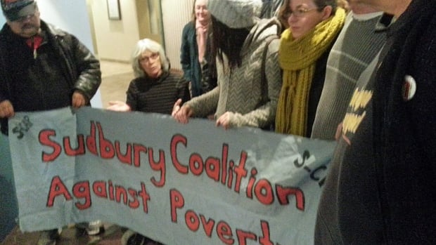 A Justice of the Peace has dropped trespassing charges against another seven protesters in Sudbury who were arrested at MPP Rick Bartolucci's office about a year ago.