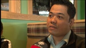 Erwin Ponce, part of the Filipino community in Happy Valley-Goose Bay, Labrador