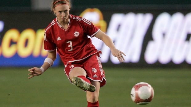 Defender Melanie Booth appeared in 65 games for the Canadian women's soccer team, winning a gold medal at the Pan Am Games in 2011 and Olympic bronze in 2012.